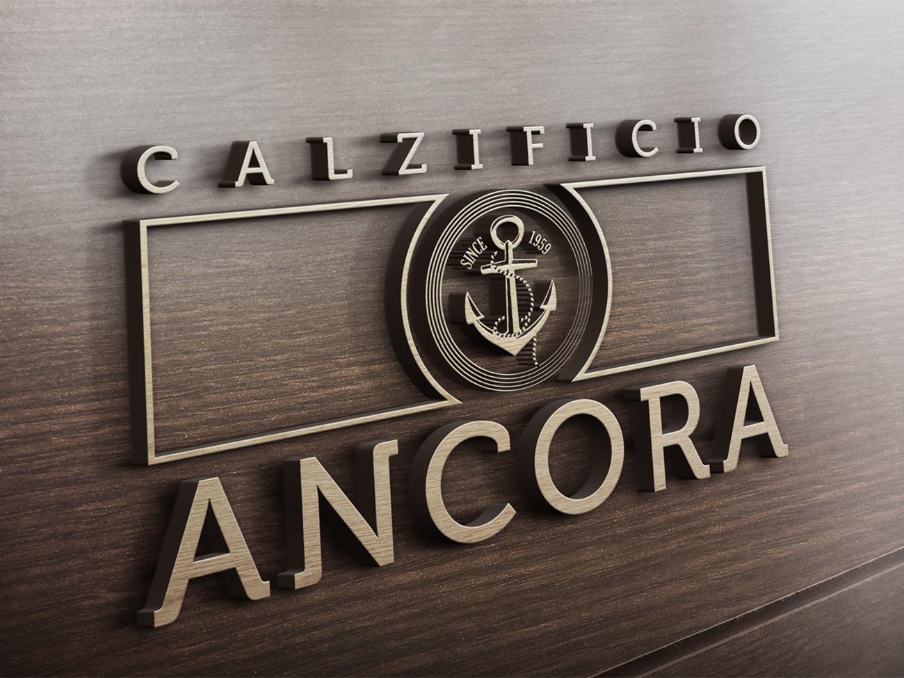 logo Calzificio Ancora